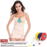 3pcs Set Body Shaper Waist Trimmer Postpartum