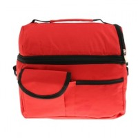 Insulated Bag Cooler Bag Picnic Lunch Bags Mummy Baby Bags Sky Red