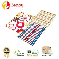 (3 Design) 40*60cm Waterproof Anti Slip Floor Mat