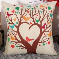 Decorative Sofa Pillow (filled / inserted)_Design 2_Love Tree