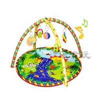 (Bigger 85 X 85) Activity play gym and Play Crawling Blanket Mat - River