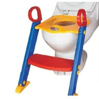Children Toddler Toilet Trainer Training Potty Seat with Ladder