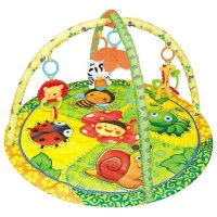 (Bigger 85 X 85) Play Gym and Play Crawling Blanket Mat- Bee