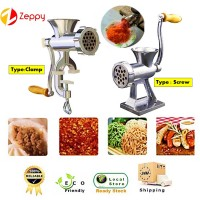Aluminium Manual Meat Grinder Hand Operate