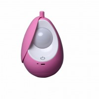 Creative Pink Style USB Charging Changeable LED Night Light