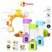 Juicer Machine Mini Portable USB Rechargeable Smoothie Maker Blender Shake