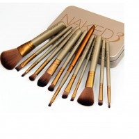 12PCS Make Up Brushes Beauty Tools With Box Travel Kit