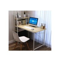 Computer Table Study Table Writing Table with Attached Multipurpose Shelf Table