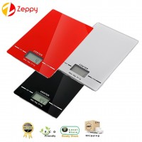 Electronic kitchen food scale weighing