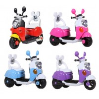 Children Electric Mick Scooter with Back Rest and Rechargeable Battery