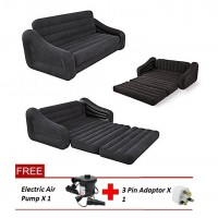 Intex Inflatable Pull Out Sofa Bed (Free Electric Air Pump)