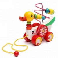 Children Early Educational Toys Duck Pulling Toys