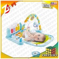 Newborn Baby Crawl Gym Play Mat Carpet Piano with Music Educational Toy