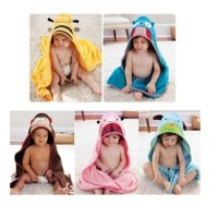 Kid Animal Design Cotton Hooded Bath Towel Beach