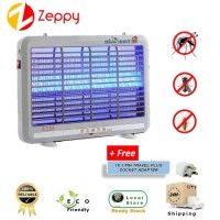 Electronic LED Light Mosquito Insect Fly Pest Killer Lamp