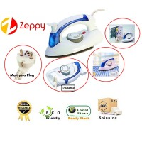 Electric Mini Foldable Handheld Travel Steam Dry Iron Temperature Control