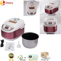 5L Multi-Function Rice Cooker Aluminum Square Smart Rice Cooker Kitchen