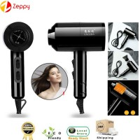 Home Salon Hair Dryer Of Temperature High Power Hot & Cold