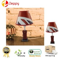 Classic London Style Post Box Household Decoration LED Table Lamp
