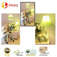 Green Horse Design Kid's Room Creative LED Cloth Floor & Table Lamp