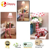 Creative Cloth Animal Lattice Design LED Floor Lamp Household Decoration