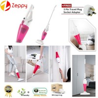Portable 400W Powerful 2 in 1 Handheld Pusher Vacuum Suction Cleaner