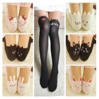 MII New Cute Women Pantyhose Stocking Knee Boots Nylon Tights